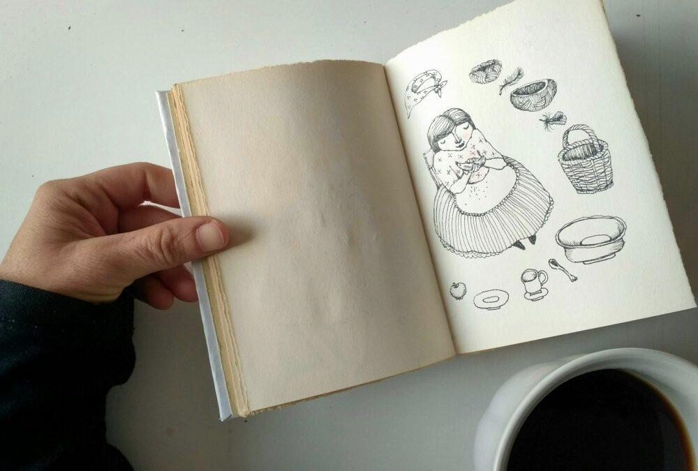 Jak se učí anglicky výtvarnice Dana Lindenthalová / Lind?